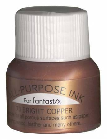 All Purpose Liquid Ink 73  Bright Copper .5oz