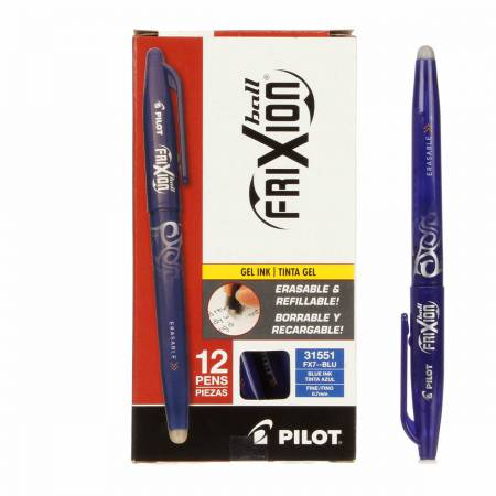 Frixion Pen Blue Fine Point 0.7mm Heat Erase