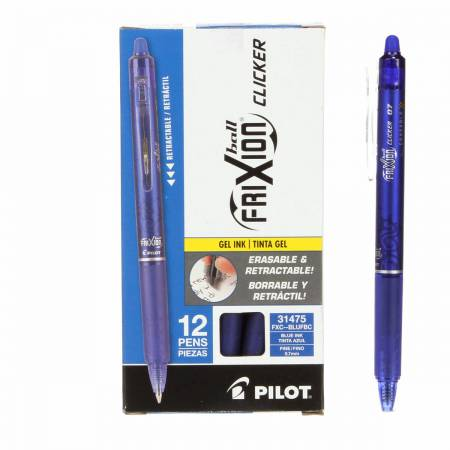 Frixion Clicker Pen Blue Fine Point 0.7mm