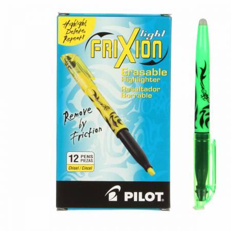 Frixion Highlighter Green Heat Erase