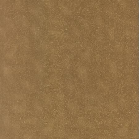 Fabric Hoffman Caramel Tiny Dots w/Metallic