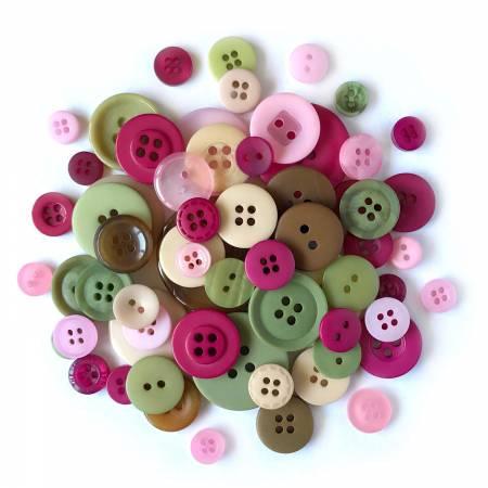 Rose Garden Variety Buttons HB104