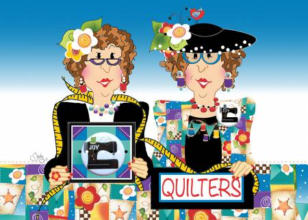 Quilters Sewing Machine Greeting Card