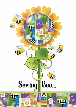 Greeting Card Sewing Bee GC27