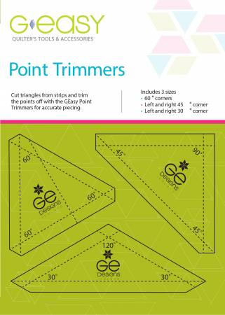 GEasy Point Trimmers from GE Designs by Gudrun Erla