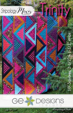 Trinity Quilt Pattern by GE Designs