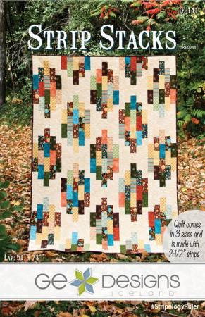 Strip Stacks Quilt Pattern by GE Designs