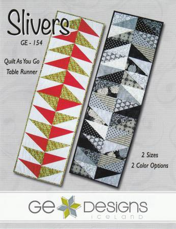 Slivers Quilt As You Go Table Runner