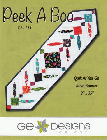 Peek A Boo Quilt As You Go Table Runner