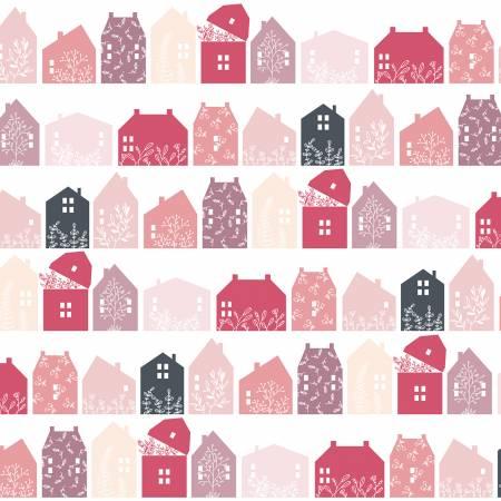 Pink Farmhouse Row