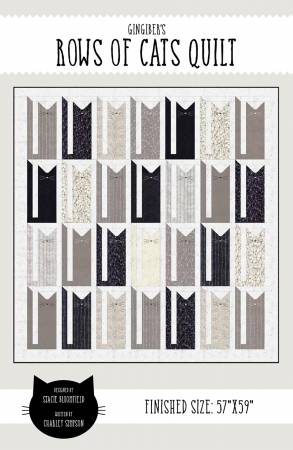 Rows of Cats Pattern