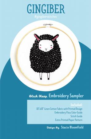 Sheep Embroidery Embroidery Sampler