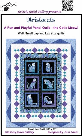 Aristocats Quilt Pattern by Grizzly Gulch Gallery