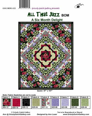 All That Jazz Block of the Month 6 Months in One