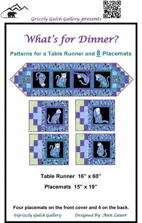 What's For Dinner?  Pattern for Panels