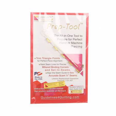 Guidelines Ruler Prep Tool Instruction Booklet 0892669002002