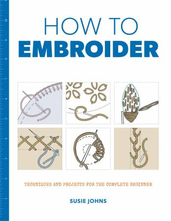 How To Embroider - Softcover