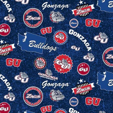 NCAA-Gonzaga Bulldogs Home State Cotton
