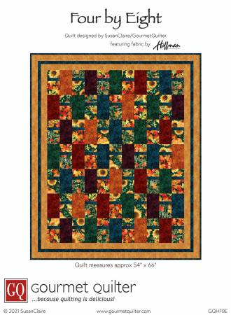 4X8QK1 Four by Eight Quilt Kit 54 x 66