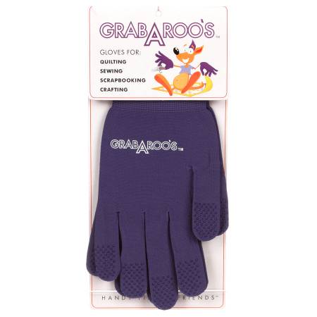 Grab A Roo's Gloves For Quilting / Sewing Size X-Large