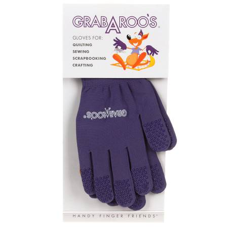 Grab A Roo's Gloves For Quilting/Sewing Size Medium