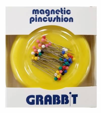 Grabbit Magnetic Pincushion Yellow