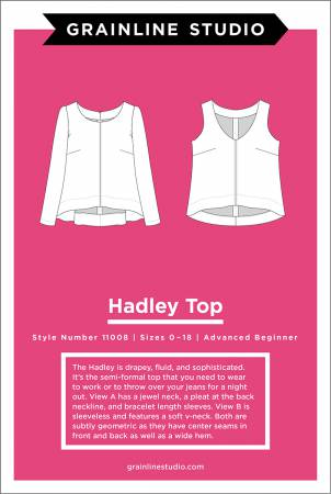 Grainline Studio- Hadley Top