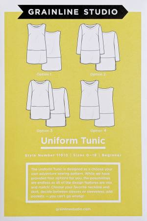 Uniform Tunic Style Number 11010 (Grainline Studio)