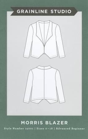 Morris Blazer Pattern - Grainline Studio