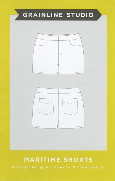 Grainline Studio Maritime Shorts