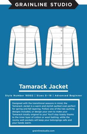 Tamarack Jacket Pattern from Grainline Studio