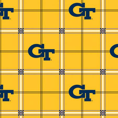Georgia Tech Plaid Flannel GT-023