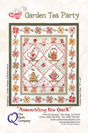 Garden Tea Party Block of the Month Complete Pattern Set