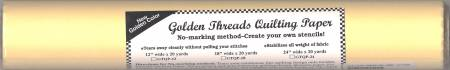 Golden Threads Quilting Paper 12 x 20 yds.