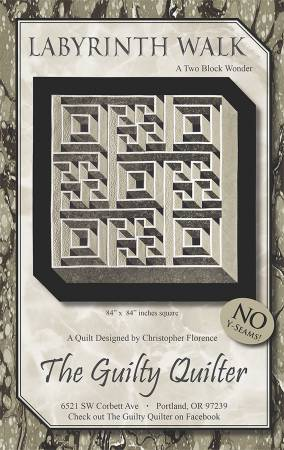 Labyrinth Walk by The Guilty Quilter