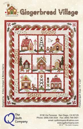 Gingerbread Village, The Complete Set