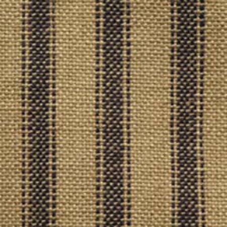 Fabric Navy/Teadye Ticking Homespun