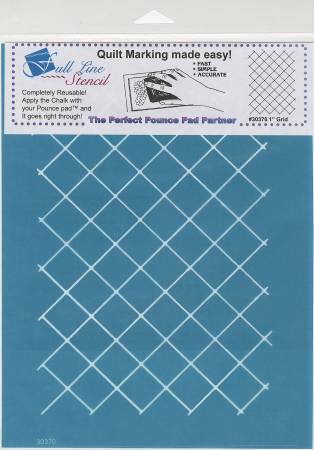 Full Line Stencil One Inch Grid