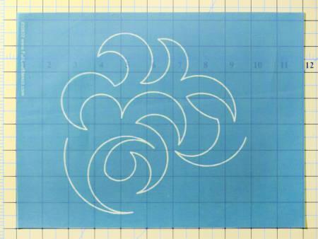 Stencil Overall Swirl