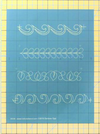 Full Line Stencil One Inch Borders by Darlene Epp