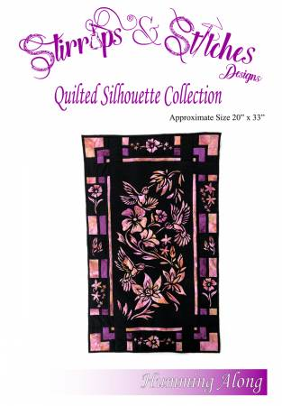Humming Along - Quilt Silhouette Kit