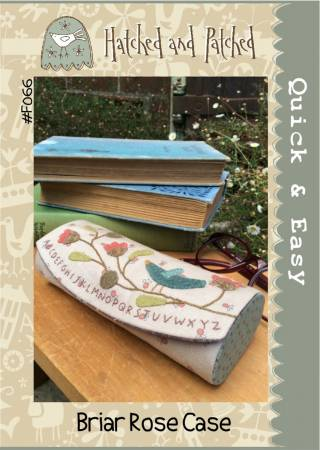 Briar Rose Case - Hatched and Patched