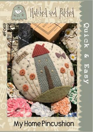 My Home Pincushion Wool Kit