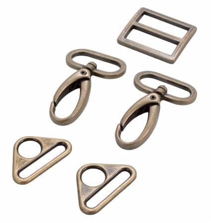1 Hardware Set 2250/Ant. Brass (ByAnnie)