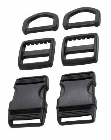 Hardware Set 1700 1in Black