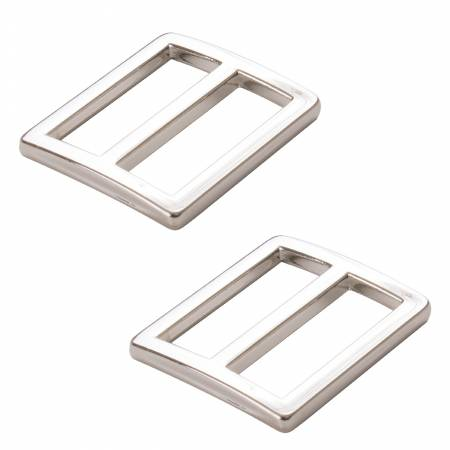 Slider Widemouth 1in Flat Nickel Set of Two