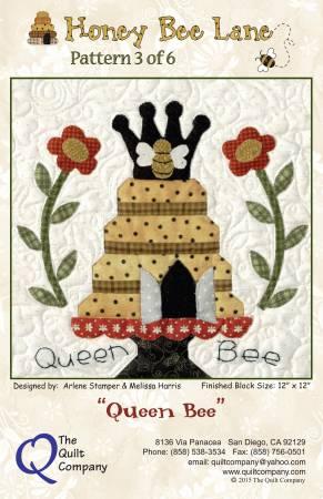 Honey Bee Lane  3 - Queen Bee Pattern