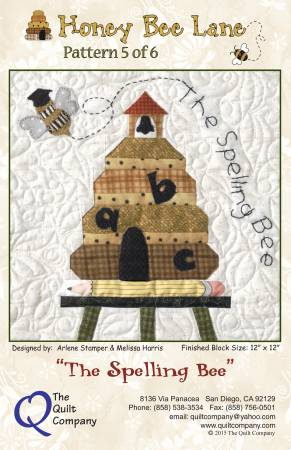 Honey Bee Lane  5 - Spelling Bee Pattern