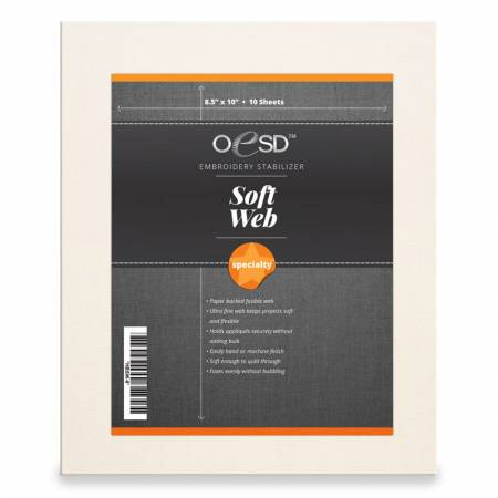 OSED SoftWeb Sheets 8.5in x 10in (10)