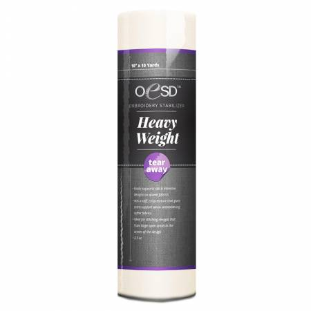 Heavy Weight White Tear Away 10in x 10 yds